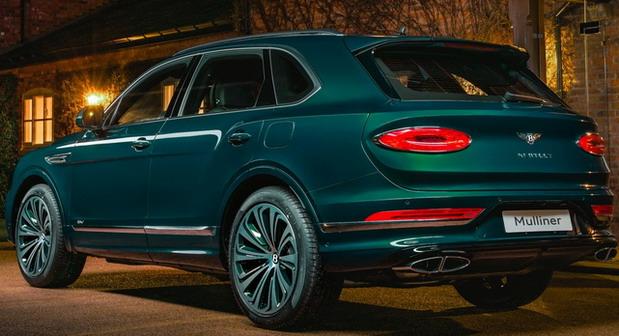 Mulliner Bentley Bentayga Hybrid