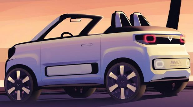 Hongguang Mini EV Cabrio Concept