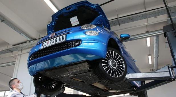 Fiat 500 BSG Hybrid Launch Edition