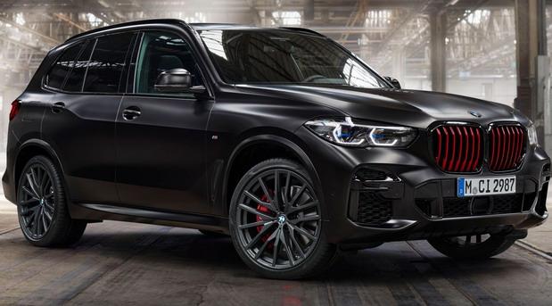BMW X5 Black Vermillion
