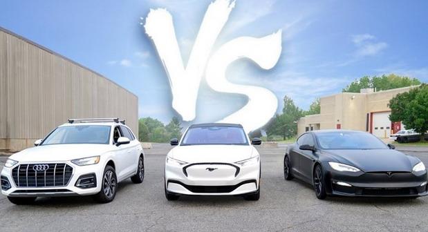 Audi, Ford, Tesla