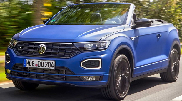 Volkswagen T-Roc Cabriolet R-Line Edition Blue