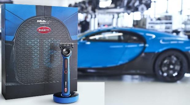 GilletteLabs Bugatti Special Edition Heated Razor
