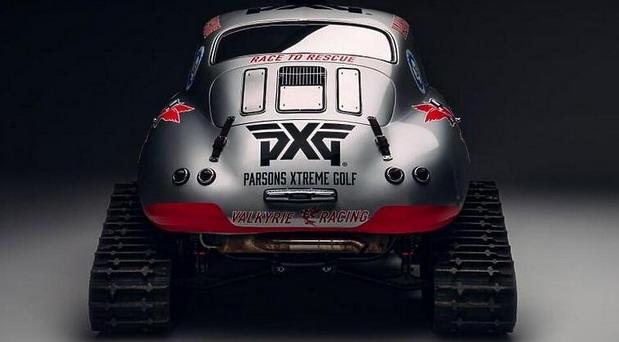 Porsche 356 na gusenicama