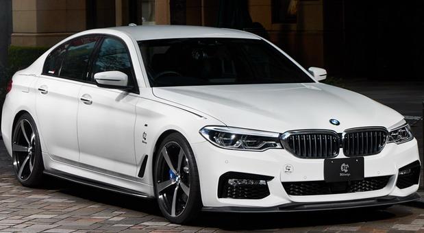 3D Design BMW 540i
