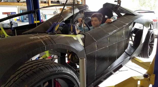 3D Lamborghini Aventador