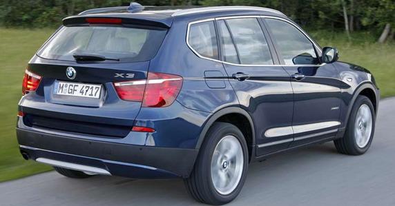 AutoBlog | BMW X3 xDrive20i i BMW X3 xDrive35d