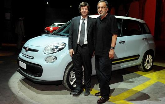 Marchionne Fiat 500L