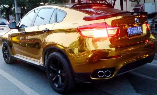 No Comment Zlatni Bmw X6 U Kini
