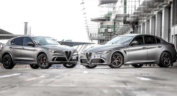 Alfa Giulia i Stelvio NRING