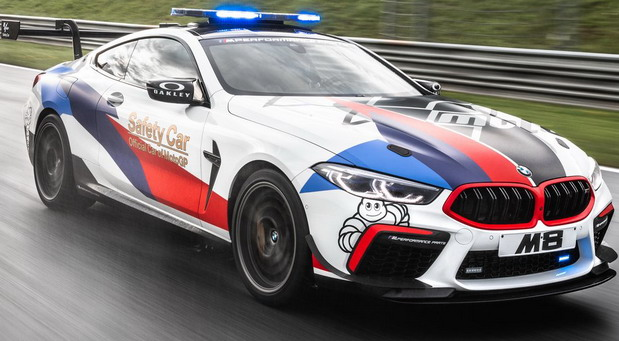 BMW M8 MotoGP Safety Car