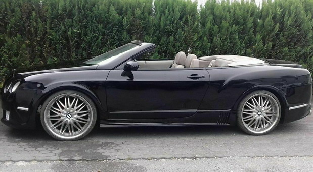 Bentley Continental GTC replika