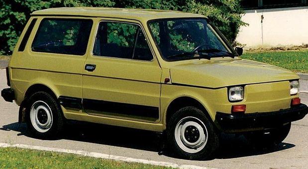 Fiat 126p Combi