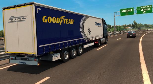 Goodyear Euro Truck Simulator 2