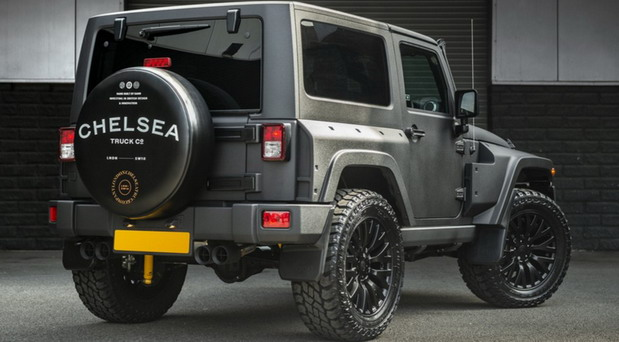 Jeep Wrangler Military edition