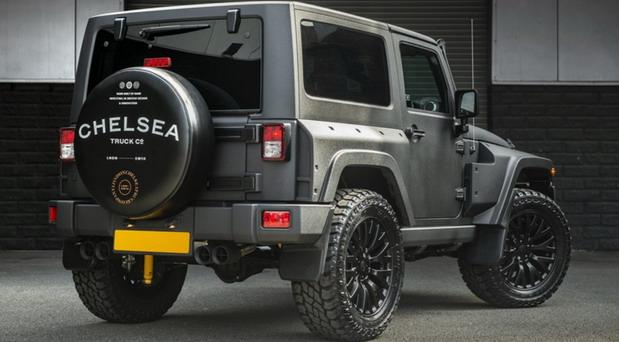 Jeep Wrangler Military edition