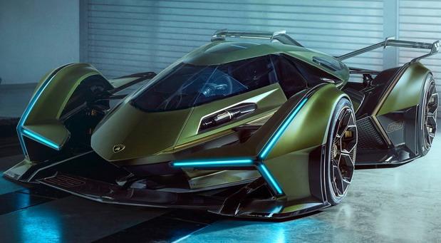 Lamborghini Lambo V12 Vision Gran Turismo Concept