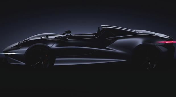 McLaren roadster