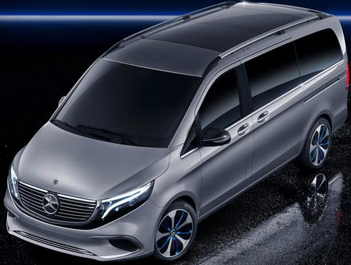 Mercedes EQV concept