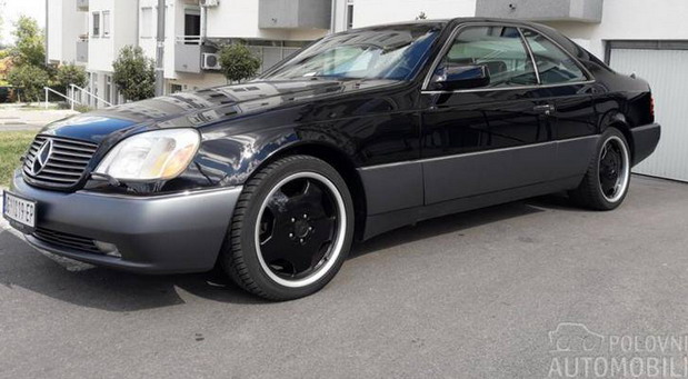 Mercedes-Benz S500 Coupé