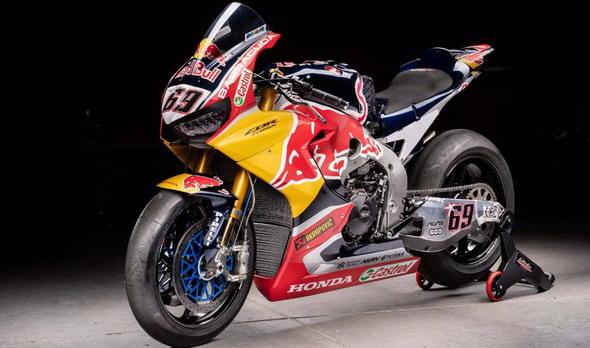 VSBK motocikl Nikija Hejdena