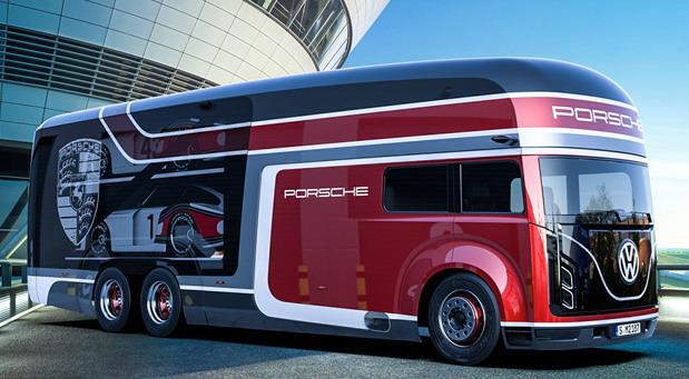 Porsche transporter
