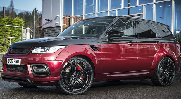 Project Kahn Range Rover Sport