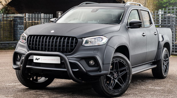 Project Kahn Mercedes-Benz X Army Chic