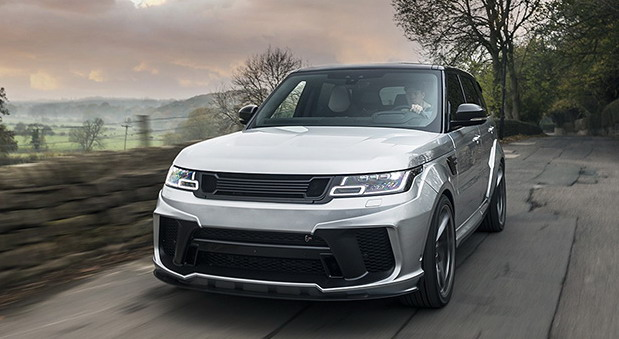 ange Rover Supercharged SVR Pace Car First Edition