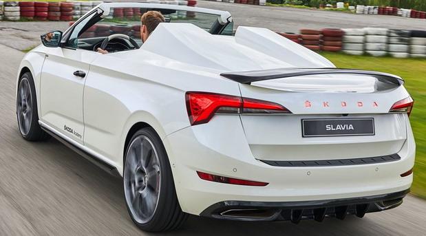 Škoda Slavia Concept