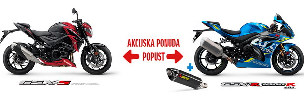 Novogodišnji popust za Suzuki motocikle