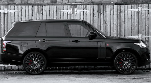 Santorini Black Range Rover 3.0 TDV6 Vogue LE edition