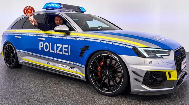 ABT Audi RS4 Avant Police