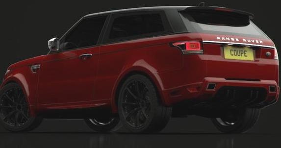range rover coupe