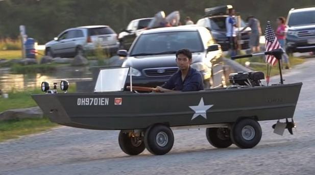 amfibijsko vozilo