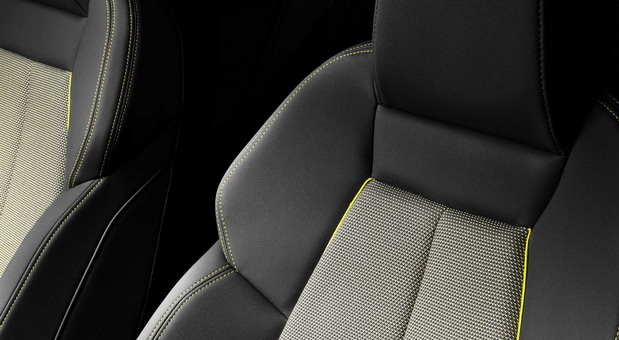 Audi A3 sedišta