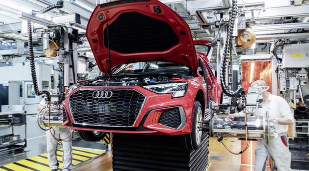 Audi fabrika