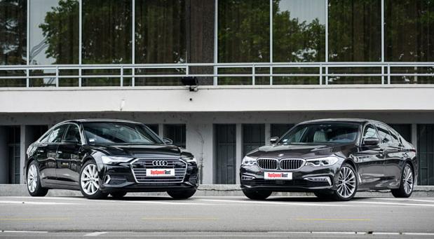 Audi A6 50 TDI quattro vs BMW 530d xDrive