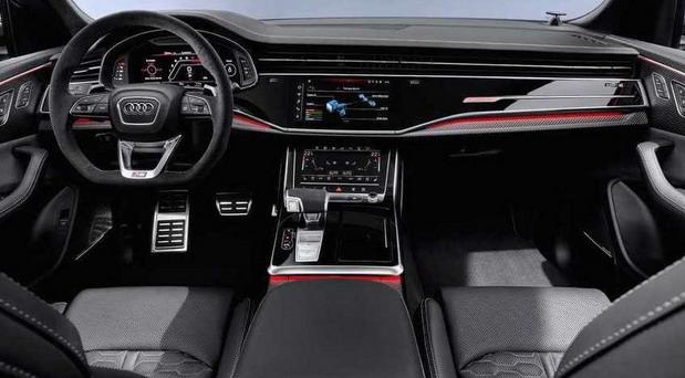 Audi enterijer