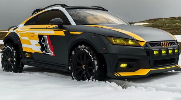 Audi TT Safari concept