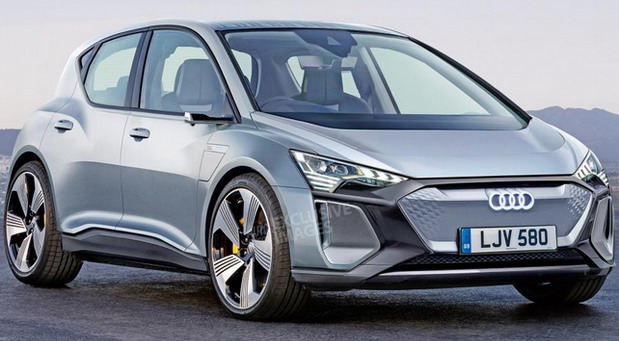Kompaktni Audi e-tron
