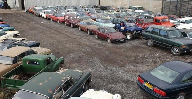 135 napuštenih automobila