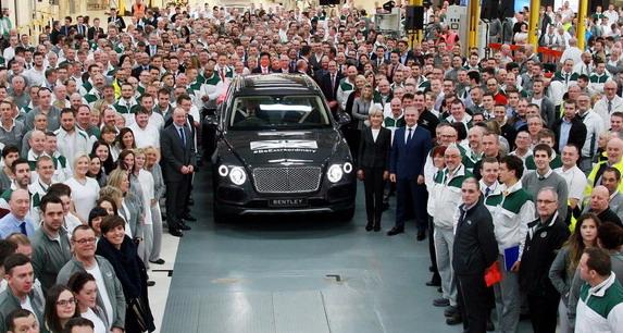 Bentley fabrika