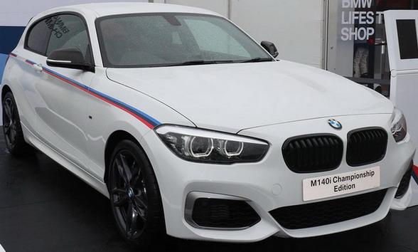 BMW M140i Championship Edition