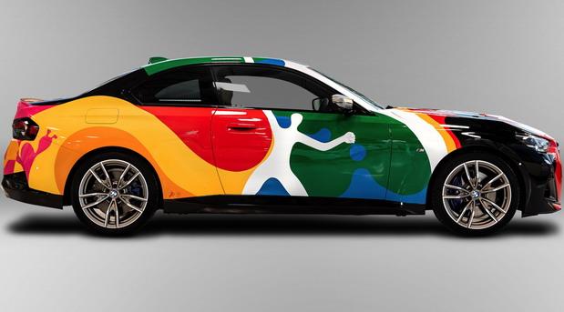 BMW 2 Coupe Art Car