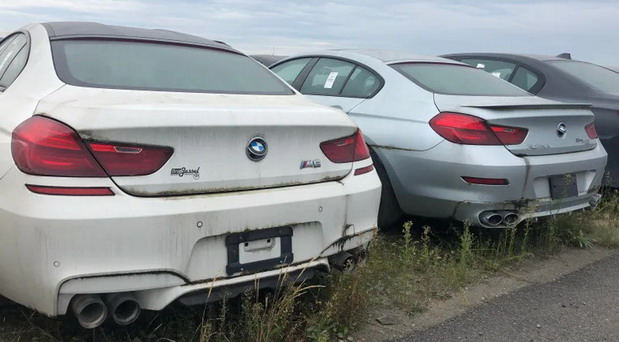 BMW plac