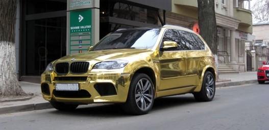 No Comment Zlatni Bmw X5 U Moldaviji