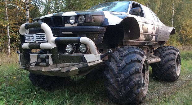 BMW 766 4x4 Monster Truck