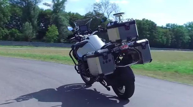 BMW samovozeći motocikl