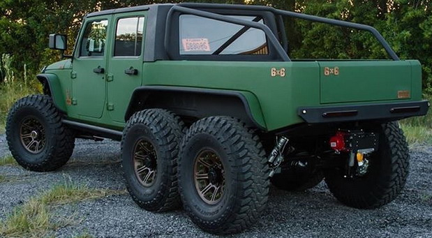Bruiser Conversions Jeep Wrangler